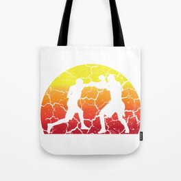 Boxing sun break glove ring MMA gift Tote Bag