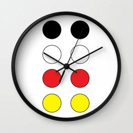 DCNSTRCTD MCKY MS (mickey) Wall Clock