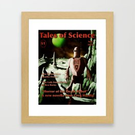 Tales of Science Framed Art Print