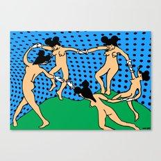 DANCE. I. Canvas Print