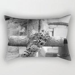 old cross Rectangular Pillow