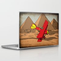 dreamer Laptop & iPad Skins featuring Dreamer by Janko Illustration
