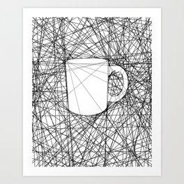 Coffee Web Art Print
