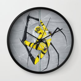 Poletober - Spider Wall Clock