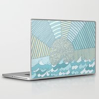 sunrise Laptop & iPad Skins featuring Sunrise by Anita Ivancenko