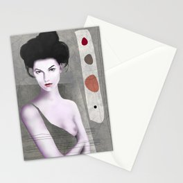De cara a la pared Stationery Cards