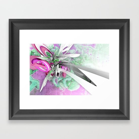N-Ascent Framed Art Print