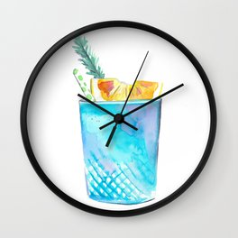 Cocktail no 1 Wall Clock