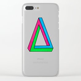 Impossible Isosceles Clear iPhone Case