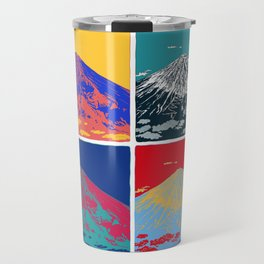 Mt. Fuji Pop Art Travel Mug