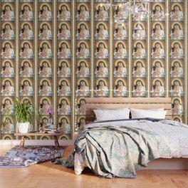 Kylie Con Il Bambino Wallpaper