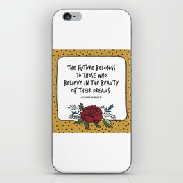 Beauty of Your Dream iPhone Skin