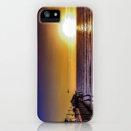 Surf City Glow iPhone Case