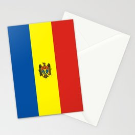 Moldova country flag Stationery Cards