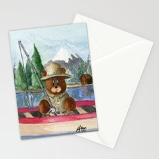 Fisherman Bear Stationery Cards