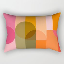 Ping Pong - brights Rectangular Pillow