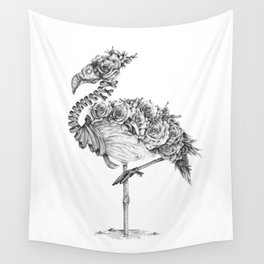 Panacea (Black and White Version) Wall Tapestry