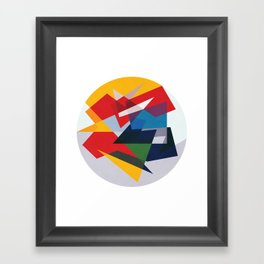 Organize Framed Art Print