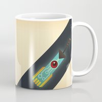 transistor Mugs featuring The Transistor by Liam Ball