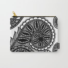 Waves and Spirals Carry-All Pouch