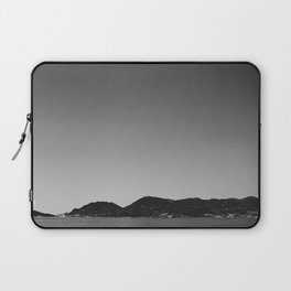 Lerici, Italy in Black and White Laptop Sleeve