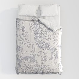 Japanese Tattoo Comforters