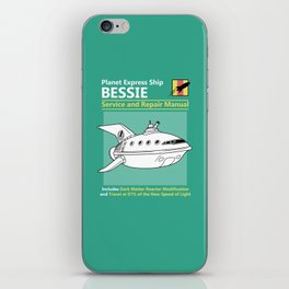 Bessie Service and Repair Manual iPhone Skin