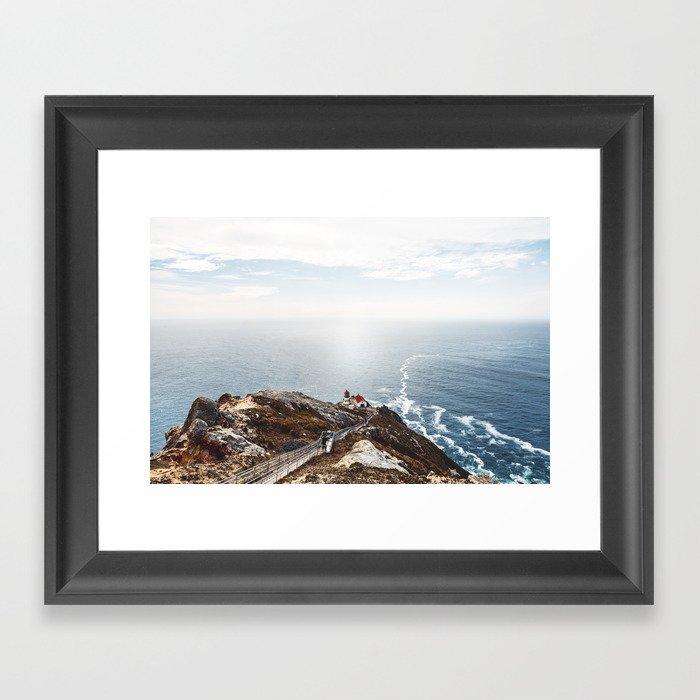 Point Reyes Lighthouse Framed Art Print