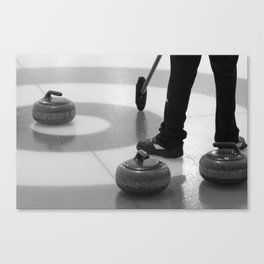 Skip In The House Canvas Print