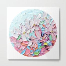 Yoshino Petals Metal Print