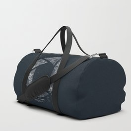 Traveling Lens (Dark Blue) Duffle Bag