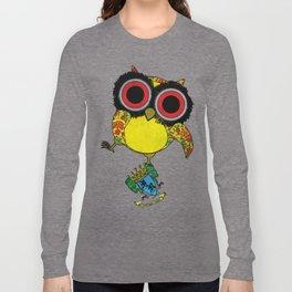 Printed Owl Long Sleeve T-shirt
