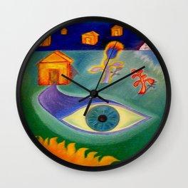 Revelations Wall Clock