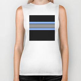 Team Colors 2...Light blue , gray Biker Tank