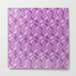 Purple chains Metal Print