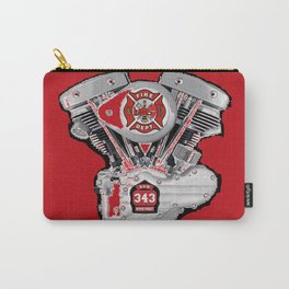 Shoveling fire. Carry-All Pouch