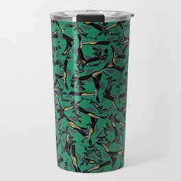 "Air Jordan 5 ""Oregon Green"" Collage Print Travel Mug"