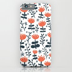 Red Blooms iPhone 6s Slim Case