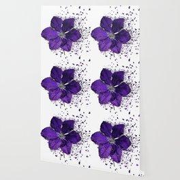 Purple flower Explosion Wallpaper
