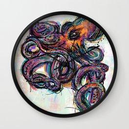 Octo Lines Wall Clock