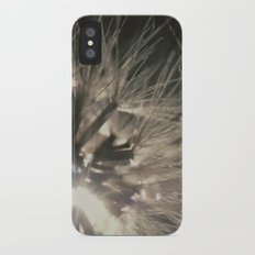 Macro sunset iPhone X Slim Case