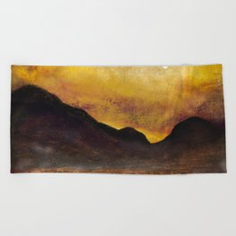 Glencoe Moonlight Beach Towel