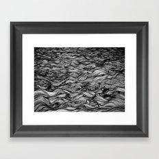 Where the Oceans End Framed Art Print
