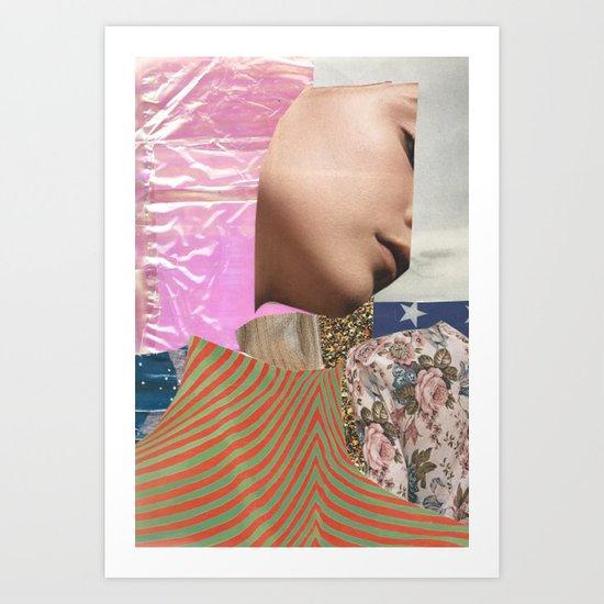 Collage #3 Art Print