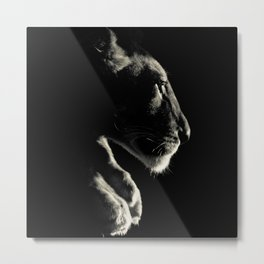 Leo Light Metal Print