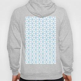Geometric Hive Mind Pattern - Blue #108 Hoody
