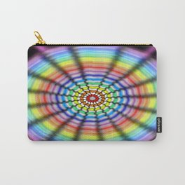 Radiating Flower Carry-All Pouch