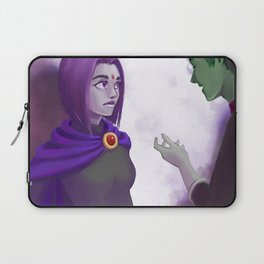 Raven and Beast Boy - Teen Titans Laptop Sleeve