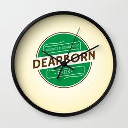 Dearborn Park Wall Clock