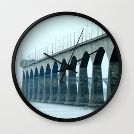 Confederation Bridge Prince Edward Island Wall Clock